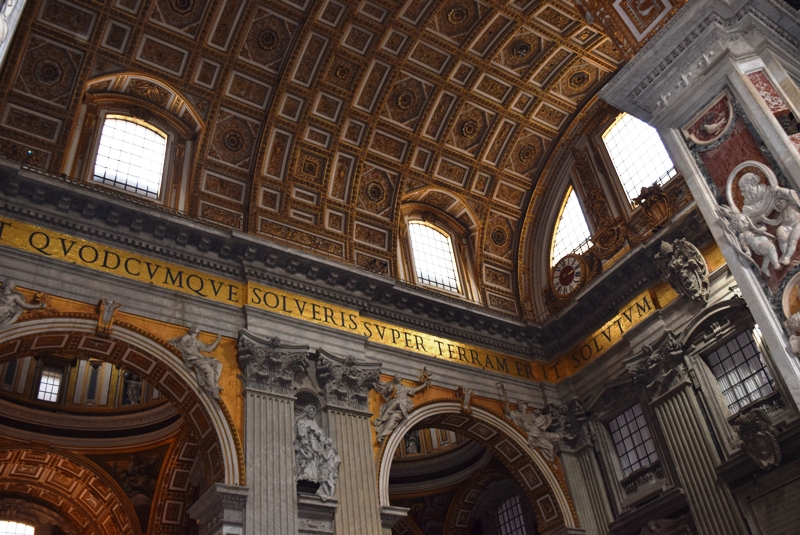 Urlaubsbericht ROM - Im Petersdom