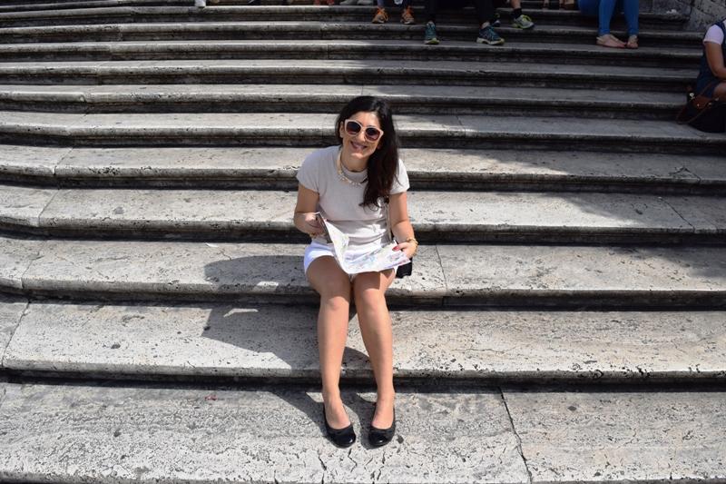 Urlaubsbericht ROM - auf der spanischen Treppe