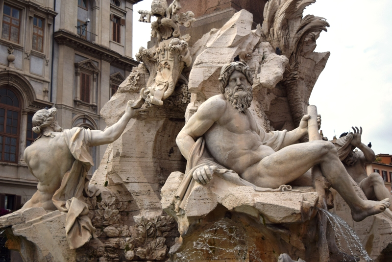 Urlaubsbericht ROM - am Campo di Fiori