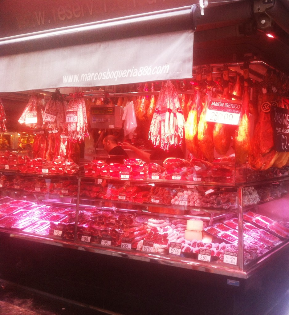 jamon iberico in barcelona