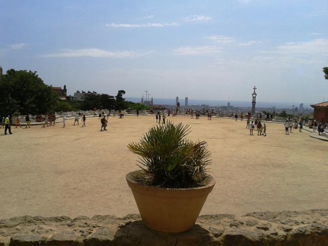 urlaubsbericht barcelona im park guell