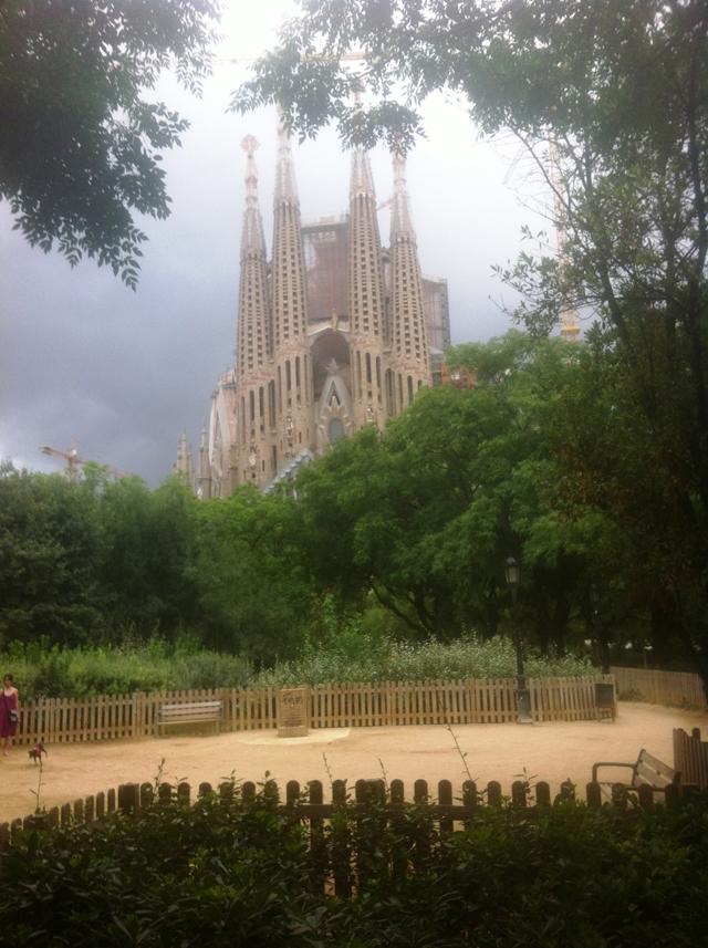 urlaubsbericht barcelona sagrada