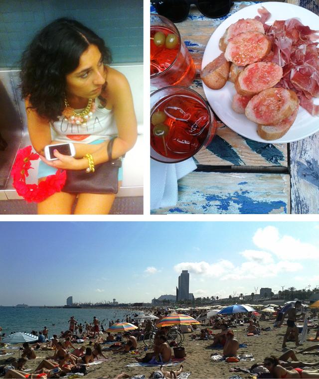urlaubsbericht barcelona strand