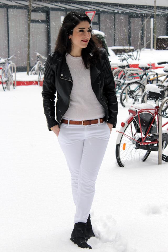 outfit weiß im winter - ganzer look