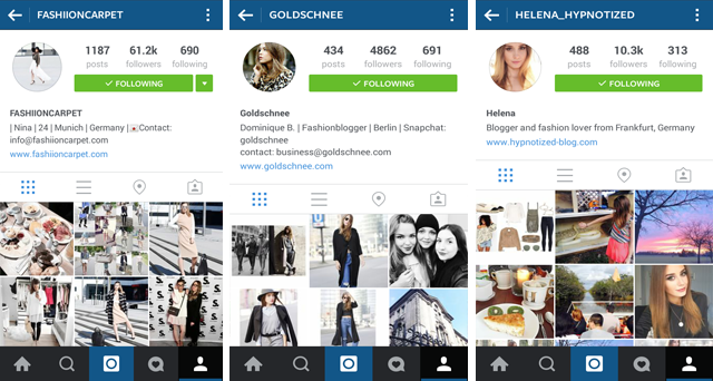 deutsche fashion instagram accounts
