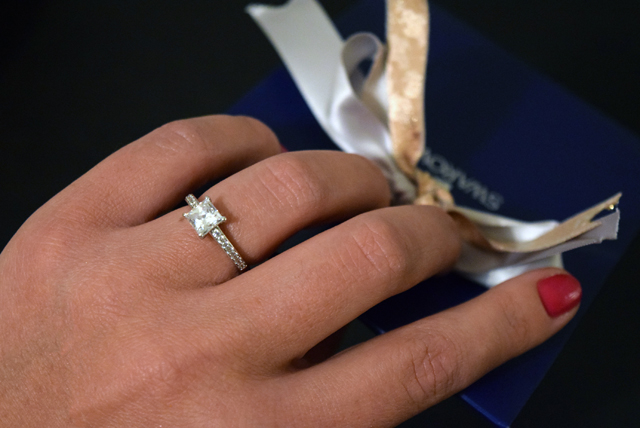 swarovski ring getragen