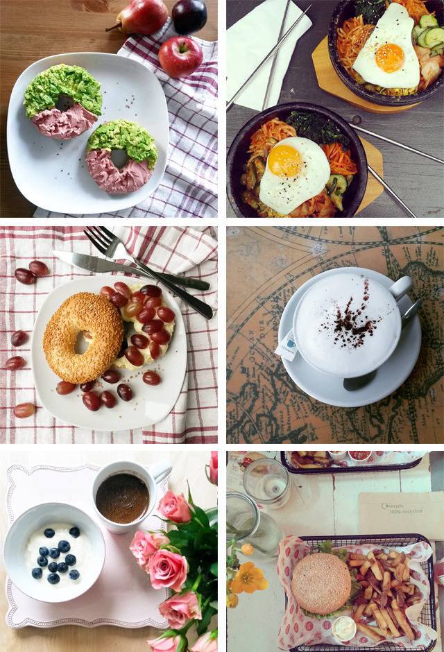 instagram moments food