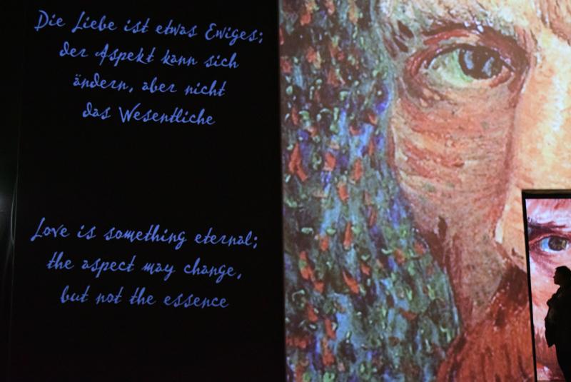Ausstellung Van Gogh Alive Modeblog THINGSAREFANTASTIC 6