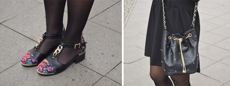 Outfit Post Schwarzes Kleidchen