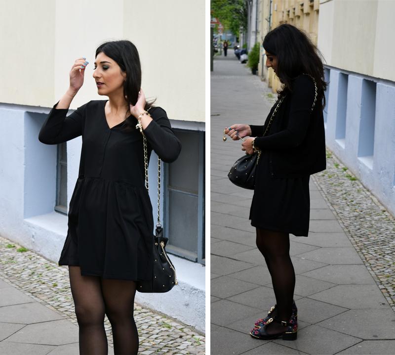Outfit kleines schwarzes