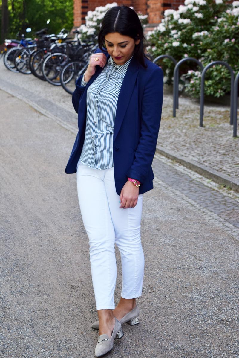 outfit marine blau modeblog thingsarefantastic