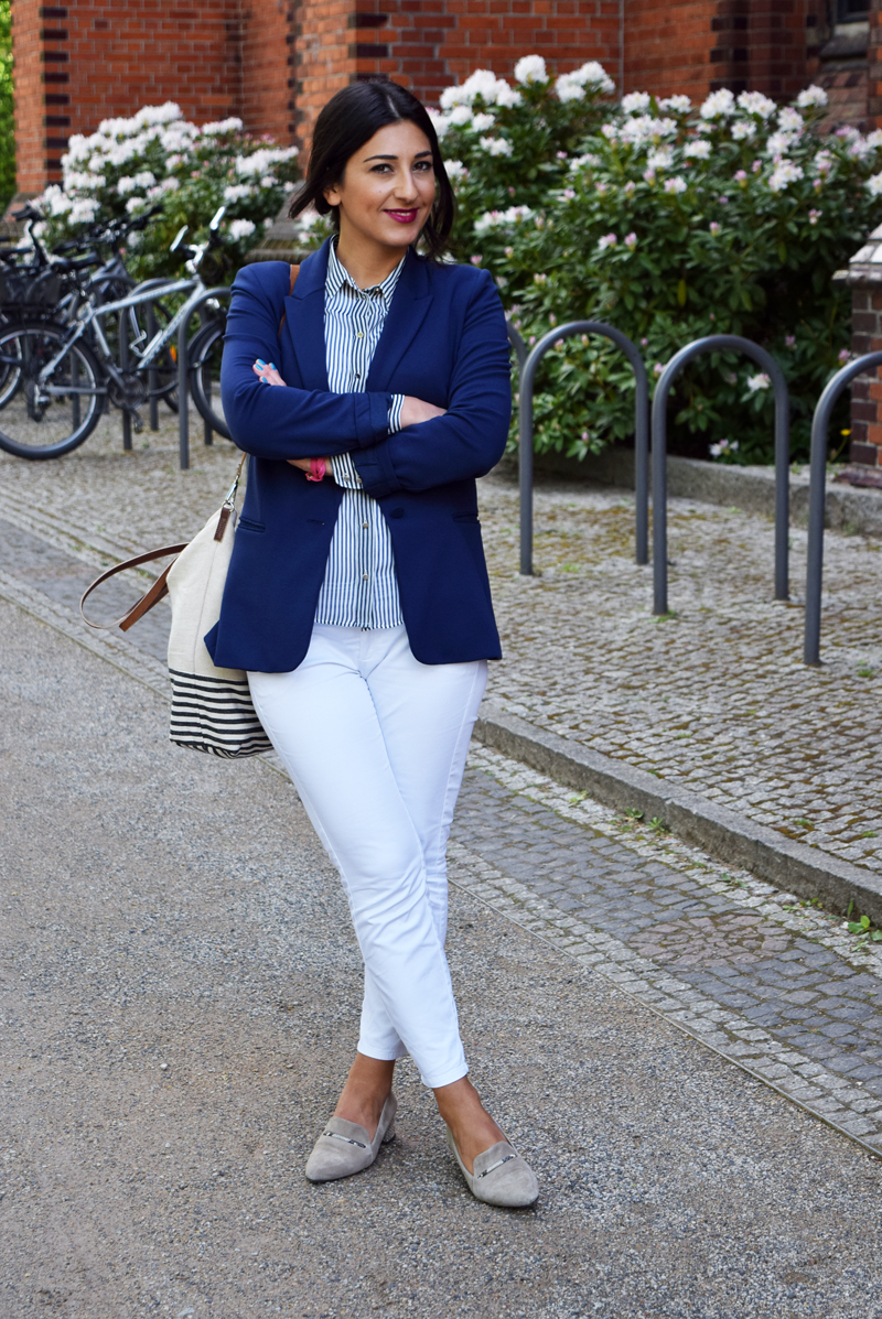 outfit marineblau thingsarefantastic