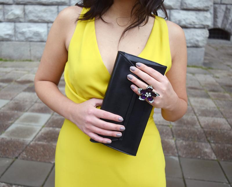 Accessoires zum gelben Outfit