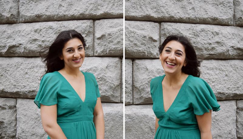 Modeblog THINGSAREFANTASTIC - Sommerkleid in Grün