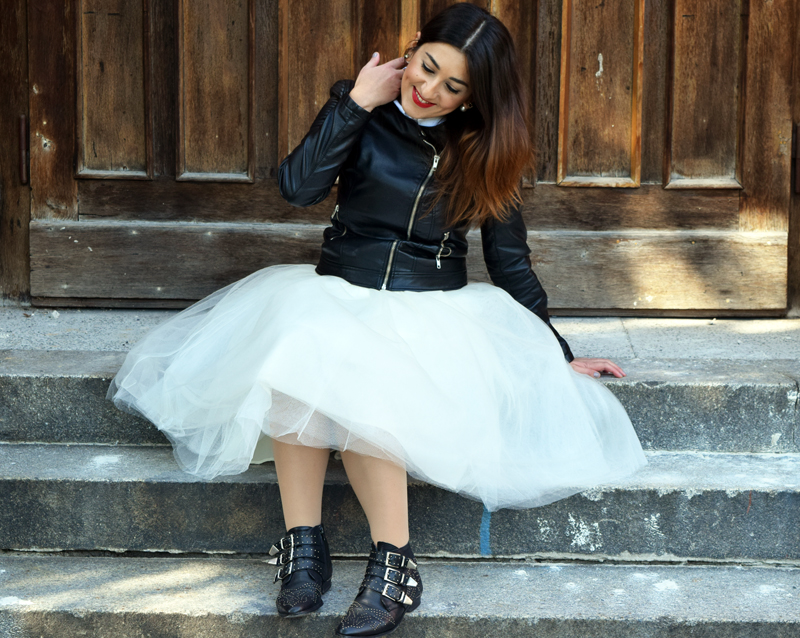 Blogger Choice How to Wear a Tulle Skirt