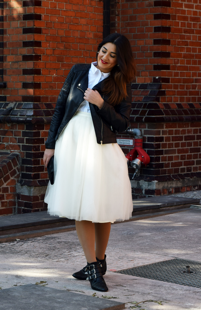 Blogparade how to wear a tulle skirt