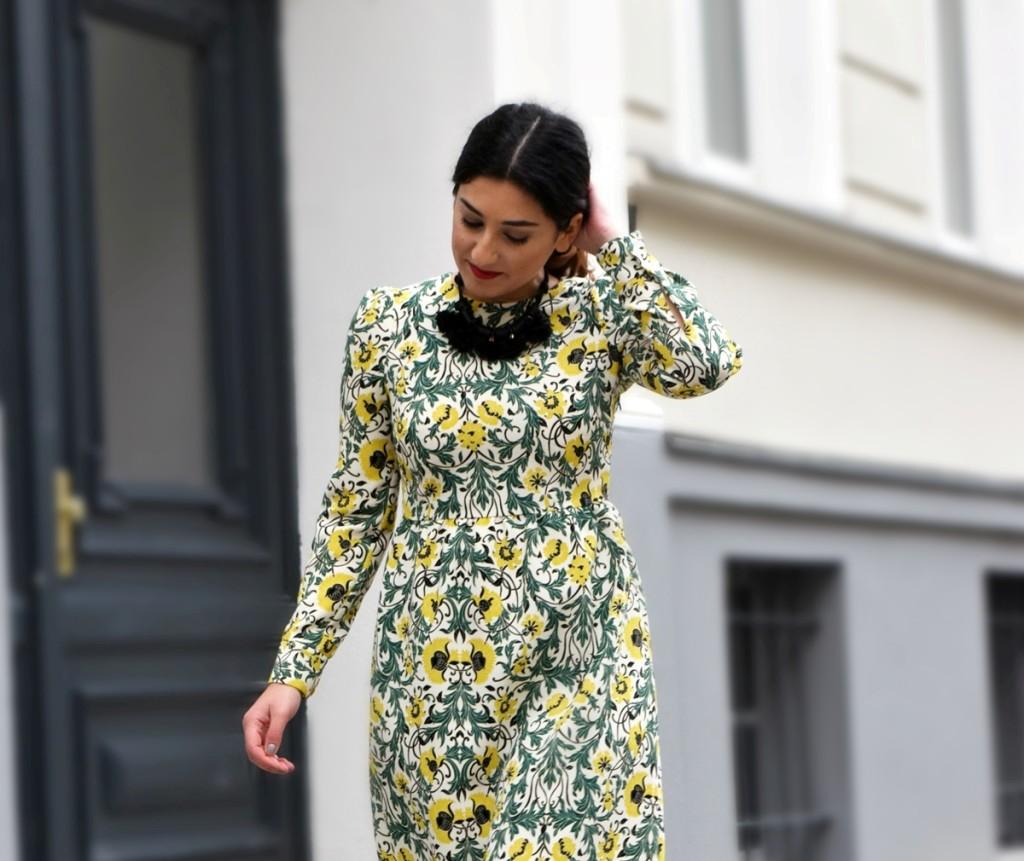 Midi dress Look