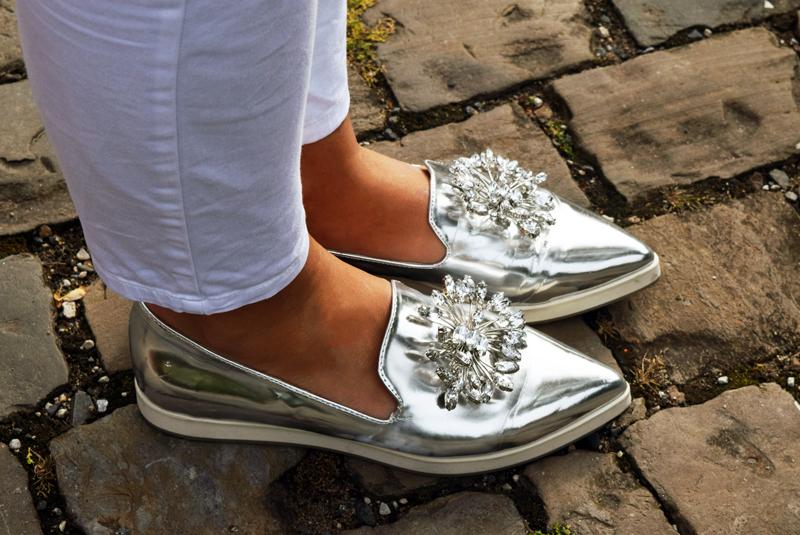 Schuhe mit Strasssteine