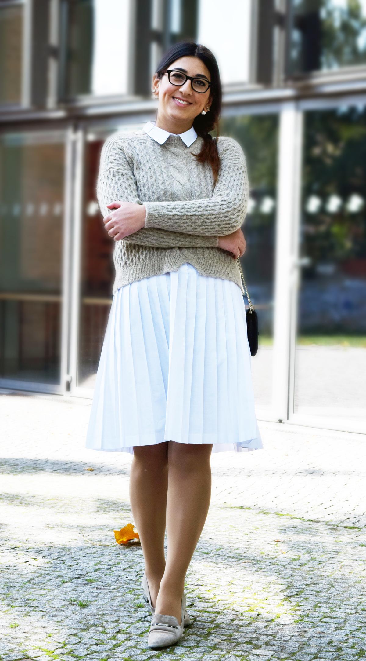 Winter Outfit fürs Büro - TAF