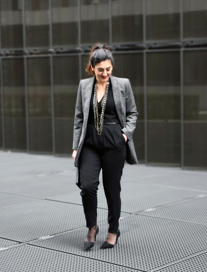 After Work Outfit mit Blazer