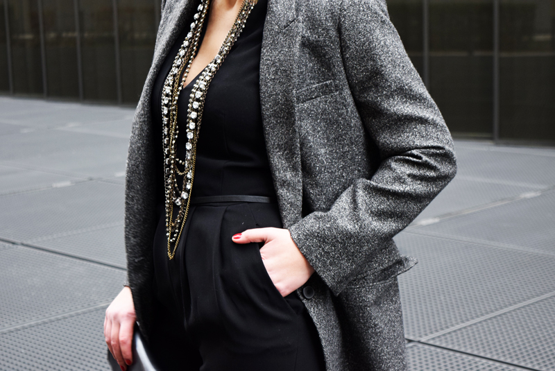 Blazer Winter After Work Outfit