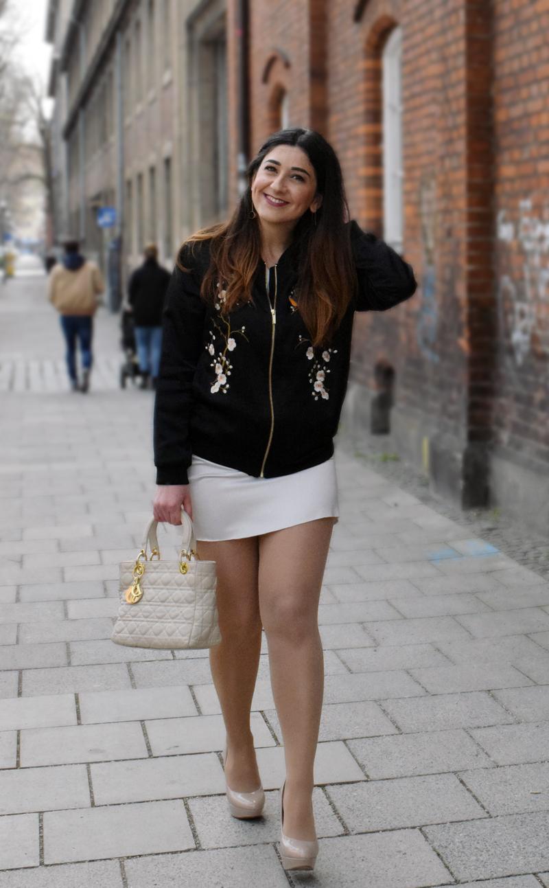 Bomber Jacke fashion Look