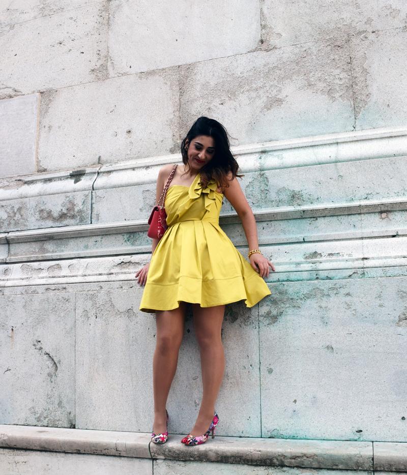 Sommer Outfit das schlank machen kann