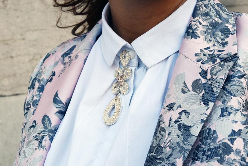 blazer mit asseccoires