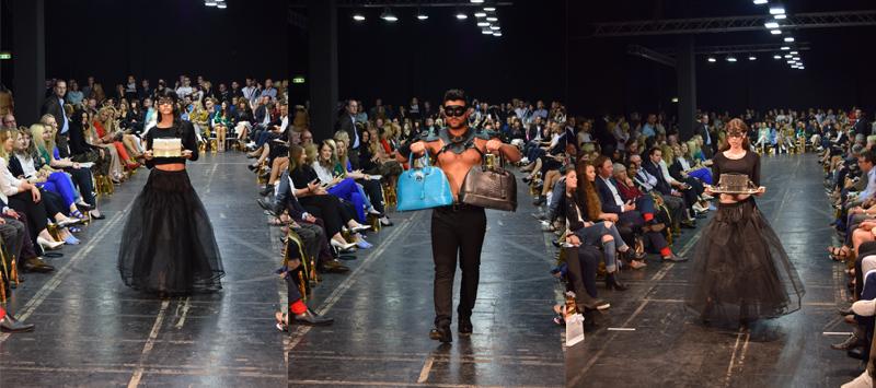 runway mit handtaschen secret fashion show