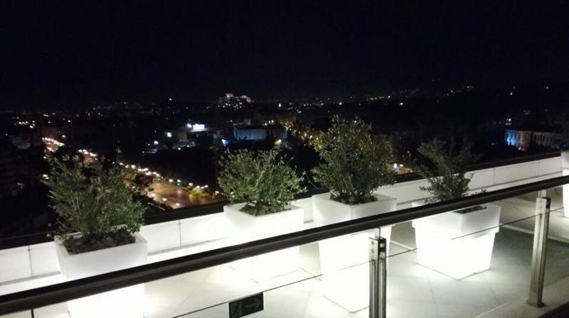 Hilton Rooftop bar Athens
