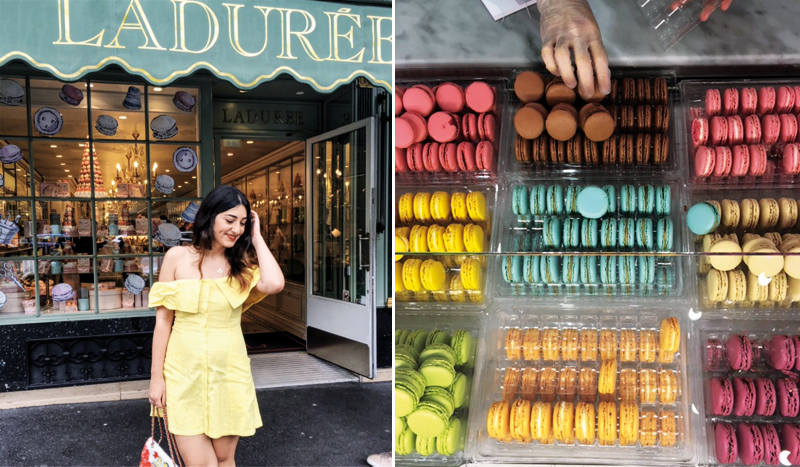 Macarons von Laduree in Paris