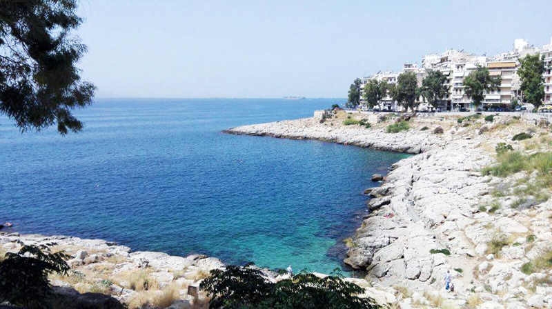 Strand in Piraeus
