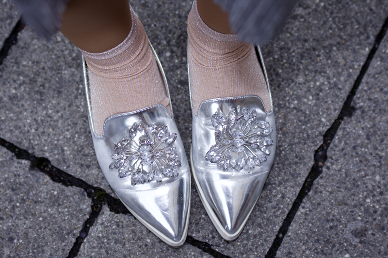 metallic schuhe mode blog thingsarefantastic