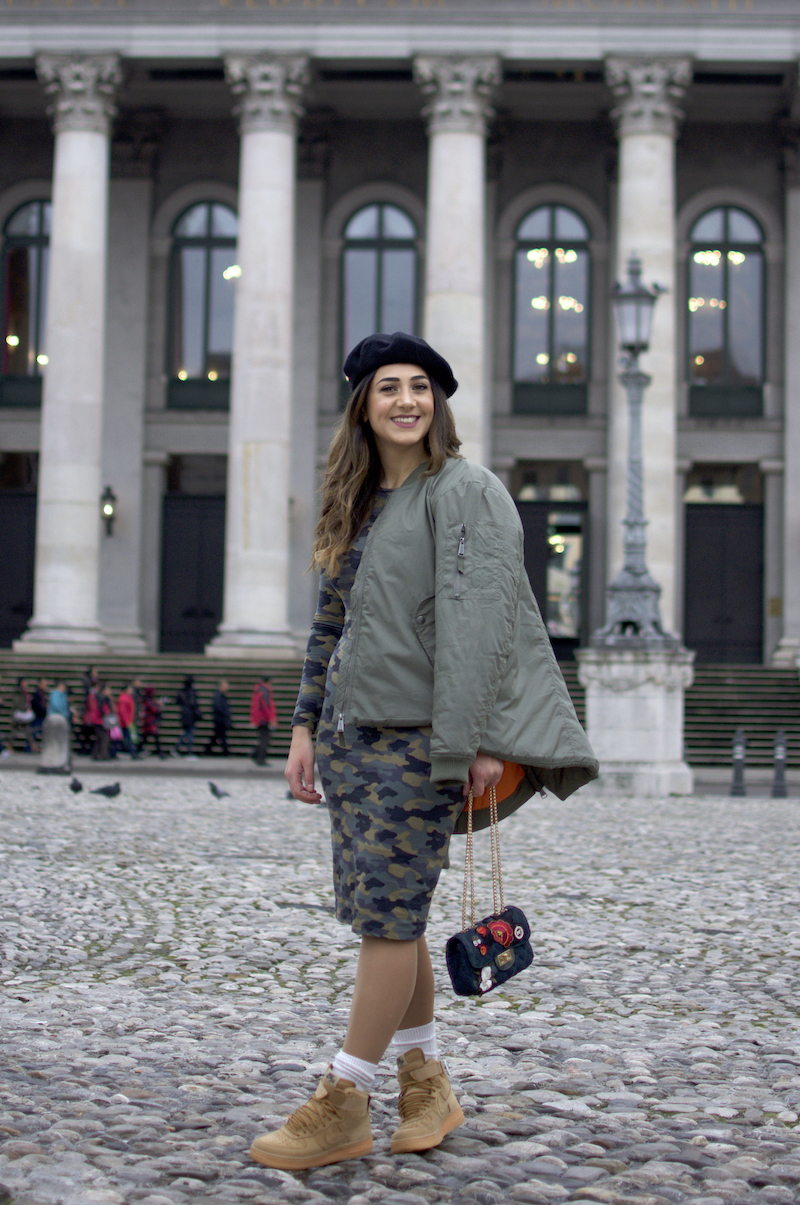 military style blogger choice