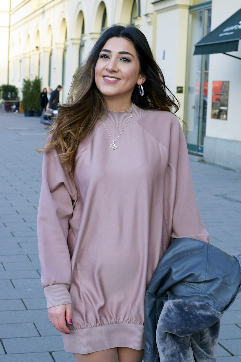 oversize blogger outfit