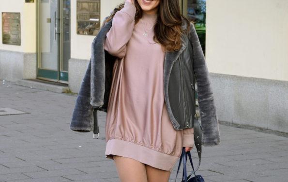 oversized fashion look