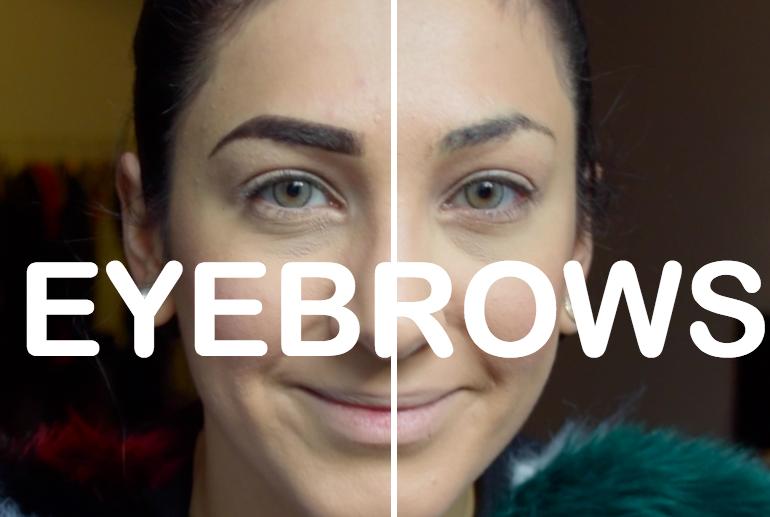 Augenbrauen natürlich schminken