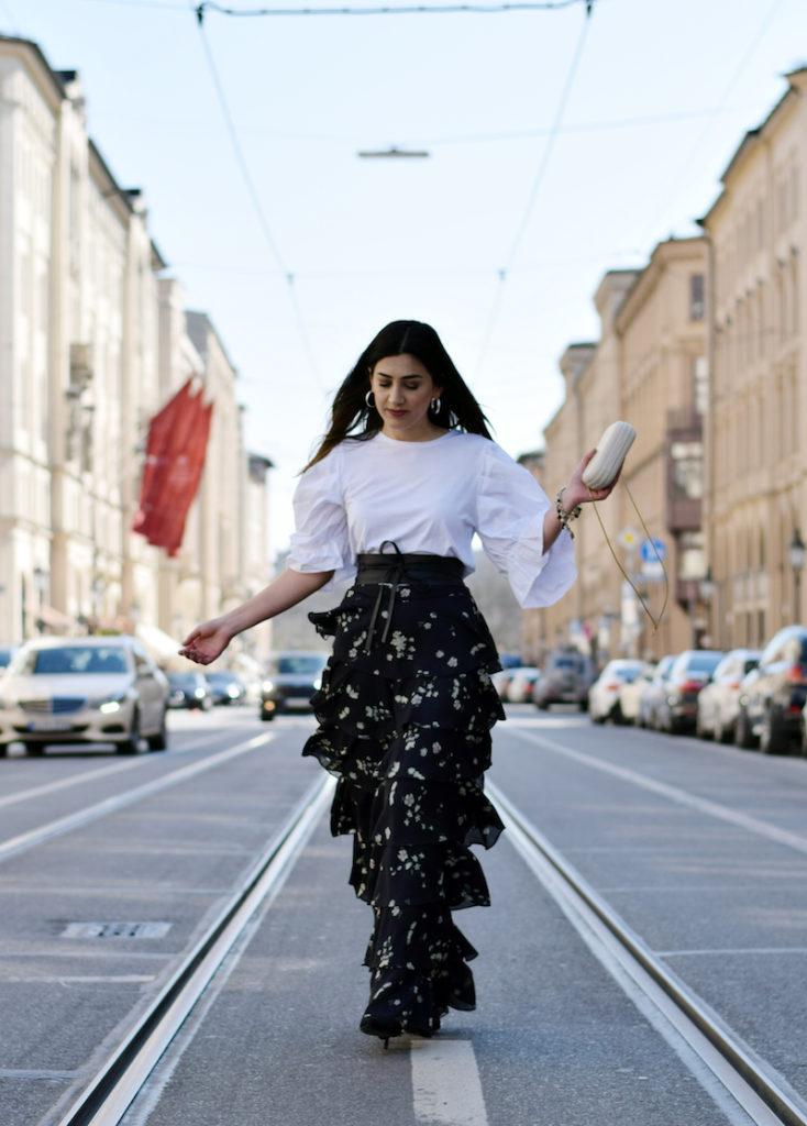 Mode Trend Volants und Rüschen