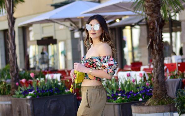 bauchfreis outfit für den sommer