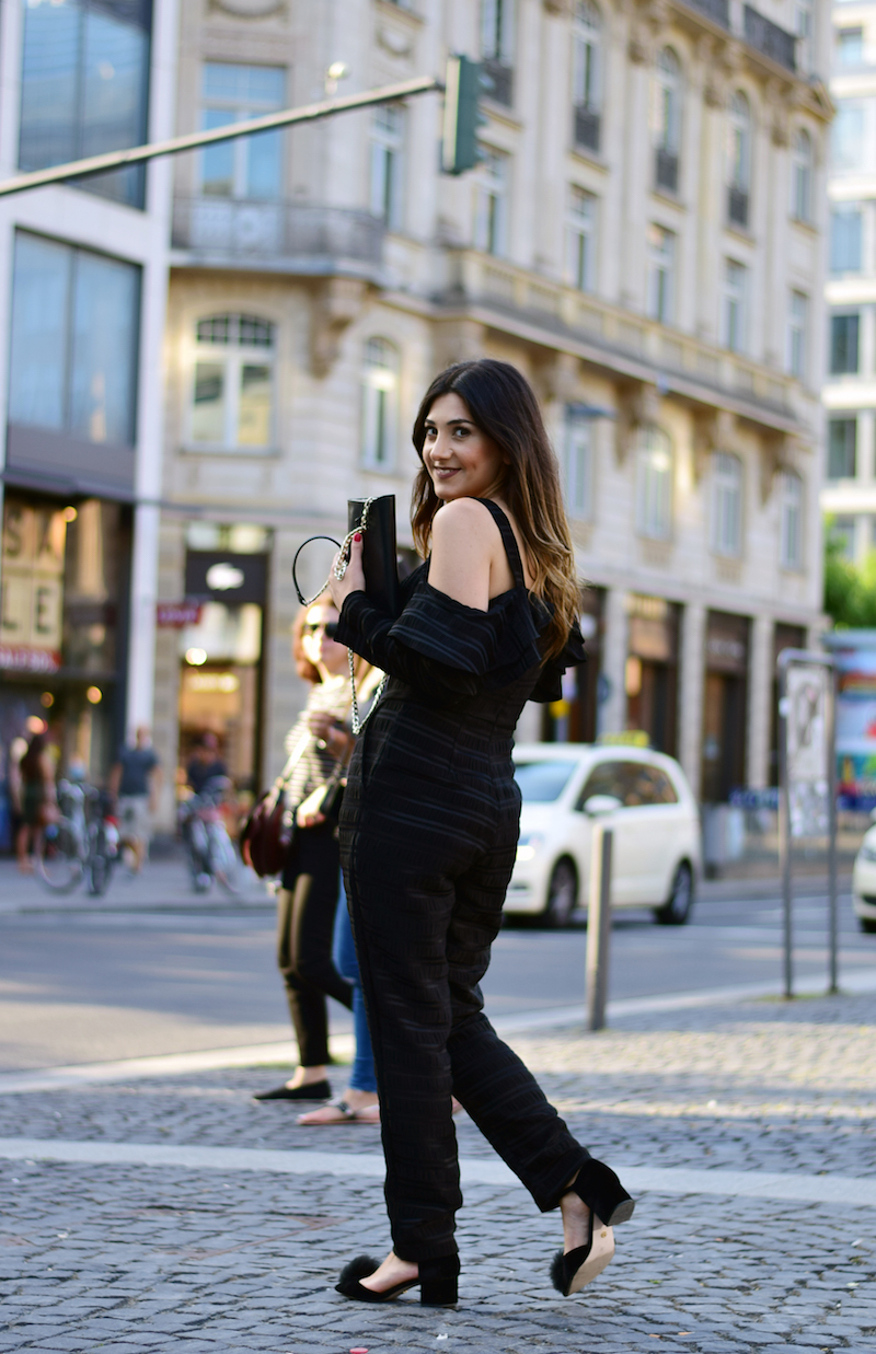 street fashion mit Overall